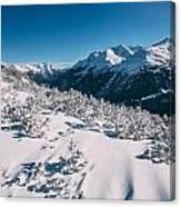 Winter In Tirol Canvas Print