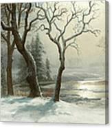 Winter In Yosemite Canvas Print