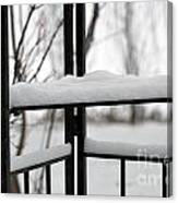 Winter Ironwork Canvas Print