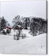 Winter Landscape 5 Canvas Print