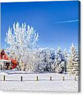Fabulous Winter. Canvas Print