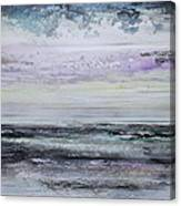 Winter Light Hauxley Haven Canvas Print