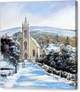 Winter  Loughguile  Ireland Canvas Print