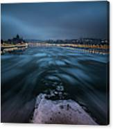 Winter Morning In Budapest Canvas Print