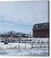 Winter Museum Canvas Print