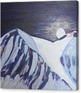 Winter Night In Skye Canvas Print