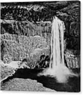 Winter Palouse Falls 3 Canvas Print