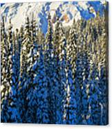 Winter Peak Canvas Print