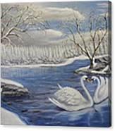 Winter Romance Canvas Print