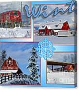 Winter Scenes  Canvas Print