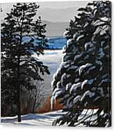 Winter Serenity Canvas Print