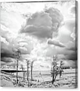 Winter Sky Drama Canvas Print