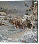 Winter Spirits Canvas Print