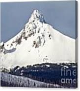 Winter Storm Over Mt. Washington Canvas Print