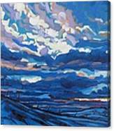 Winter Stratocumulus Canvas Print