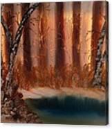 Winter Thaw Canvas Print