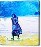 Winter Tide Walker Canvas Print
