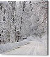 Winter Travel Canvas Print