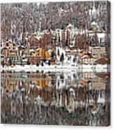 Winter View Of Saint Moritz Canvas Print