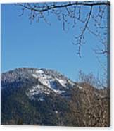Winter Vista From Grants Pass Canvas Print