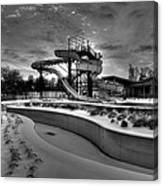 Winter Water Park Canvas Print
