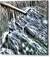 Winter Waterfall 2 Canvas Print