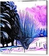 Winter Whimsey  Canvas Print