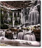 Winter Wonders At Scaleber Force Canvas Print