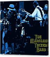 Winterland Blues With The Marshall Tucker Band 1976 Canvas Print