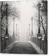 Winters Bridge Canvas Print