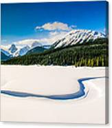 Winters Calm Canvas Print