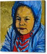 Winter's Child Canvas Print