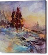 Winters Light Canvas Print