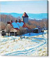 Winter's Mantle Canvas Print
