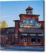 Winthrop Emporium Canvas Print