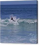 Wipe Out Canvas Print