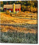 Wisconsin - Country Morning Canvas Print