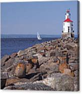 Wisconsin Point Lighthouse 1 K Canvas Print