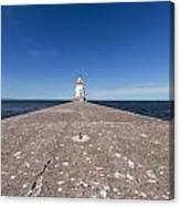 Wisconsin Point Lighthouse 6 B Canvas Print