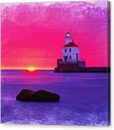 Wisconsin Point Lighthouse Canvas Print
