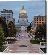 Wisconsin State Capitol Building Canvas Print