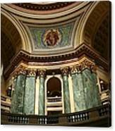 Wisconsin State Capital Building 1  Canvas Print