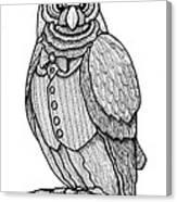 Wisdom Owl Canvas Print
