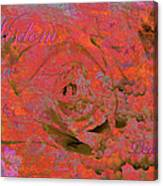 Wisdom Pearls Canvas Print