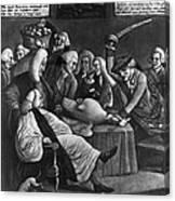 Wise Men Of Gotham, 1776 Canvas Print