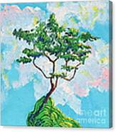 Wish Bone Tree Canvas Print