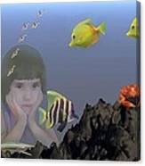 Wish I Could Swim Canvas Print