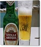 Cheers From Stella Canvas Print