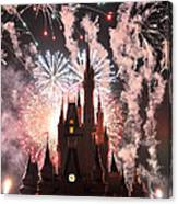 Wishes In The Dark Canvas Print