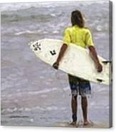 Wishin Waves Canvas Print